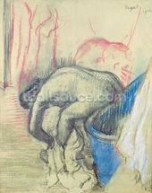 After the Bath, 1903 (pastel on paper) wall mural thumbnail
