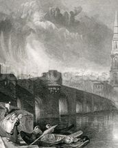 Inverness, engraved by W. Miller, 1836 (engraving) wallpaper mural thumbnail