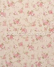 Tapestry Rose Floral wall mural thumbnail