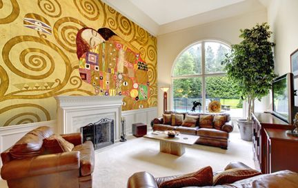 Klimt, Gustav Wall Murals Wallpaper