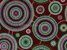 Circles - Ethnic wall mural thumbnail