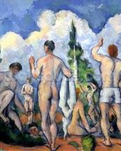 The Bathers, c.1890-92 (oil on canvas) wall mural thumbnail