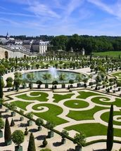 Palace of Versailles Orangerie wallpaper mural thumbnail