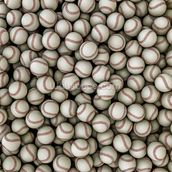 Baseballs background mural wallpaper thumbnail