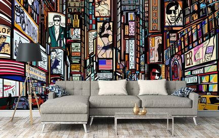Retro Wallpaper Wall Murals Wallpaper
