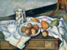 Still Life of Peaches and Pears, 1888-90 (oil on canvas) wall mural thumbnail