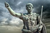 Statue of Caeser, Rome wall mural thumbnail