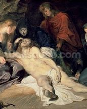 Lament of Christ, 1614 (panel) wall mural thumbnail