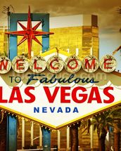 Las Vegas Welcome wallpaper mural thumbnail