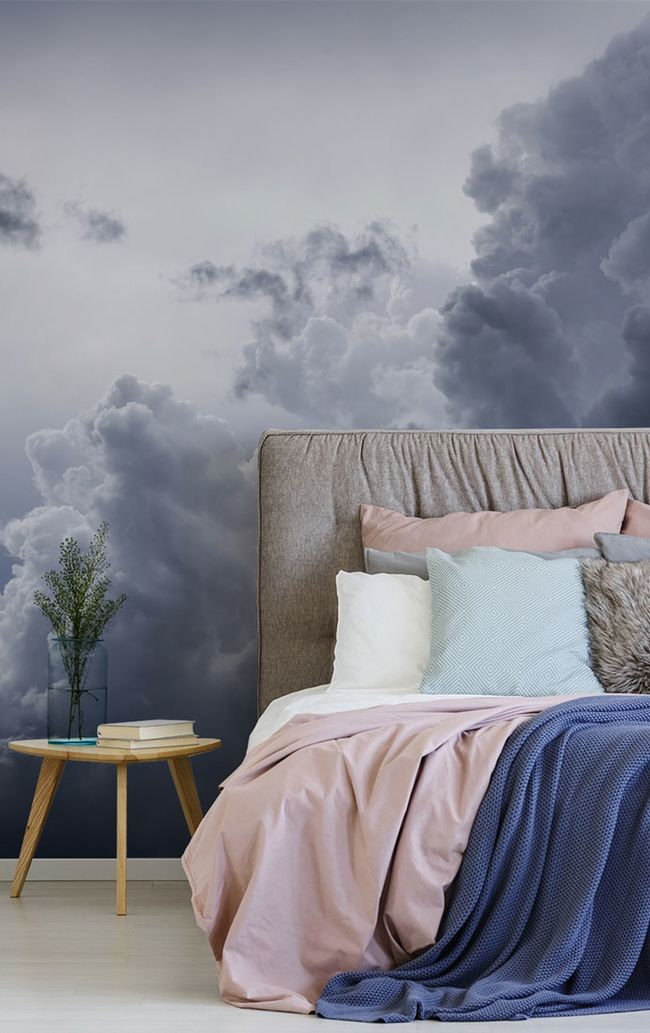 Dreamy Cloud Wallpaper for Any Room in the House