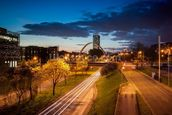 Manchester skyline mural wallpaper thumbnail