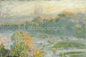 The Tuileries (study) 1875 (oil on canvas) wallpaper mural thumbnail