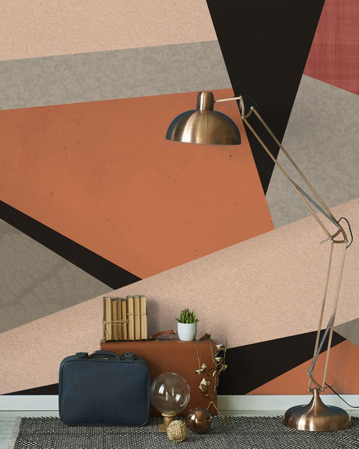 terracotta-wallpaper-in-lounge