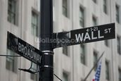 Wall Street wallpaper mural thumbnail
