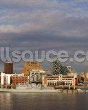 Liverpool Skyline Wallpaper wallpaper mural thumbnail