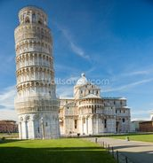 Leaning Tower, Pisa wallpaper mural thumbnail