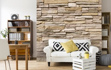 Stone Effect Wallpaper Wallpaper Murals