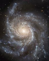 Giant Spiral Disk of Stars wall mural thumbnail