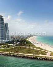 Miami Beach Florida wall mural thumbnail