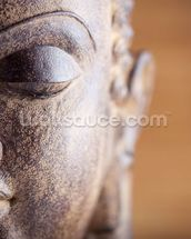 Statue of Buddha mural wallpaper thumbnail