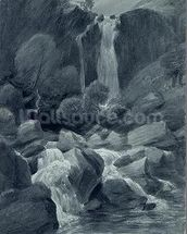 Taylor Ghyll, Sty Head, Borrowdale, 1806 (w/c on paper) wall mural thumbnail