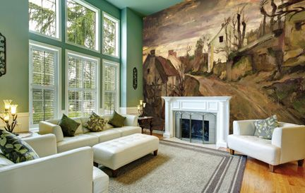 Cezanne, Paul Wall Murals Wallpaper