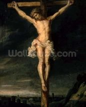 The Crucifixion (oil on canvas) wallpaper mural thumbnail