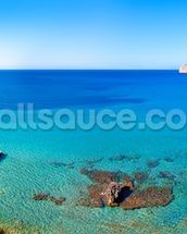 Idyllic Mallorca Sea View wallpaper mural thumbnail