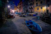 Riomaggiore Fishing Boats wall mural thumbnail