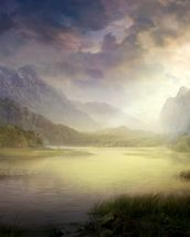 Silent Morning wall mural thumbnail