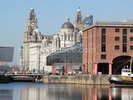 Liverpool Albert Dock wall mural thumbnail