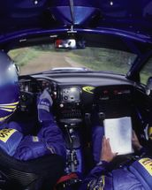 Richard Burns & Robert Reid, Subaru Impreza WRC (2001) wall mural thumbnail