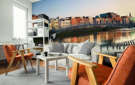 Dublin wallpaper wall murals wallsauce australia for Dublin wall mural