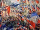 The Rue Saint-Denis, Celebration of June 30, 1878 (oil on canvas) wall mural thumbnail