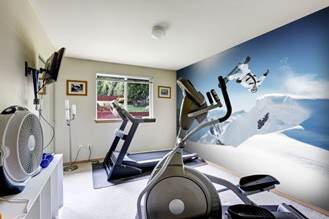 Wall mural ideas for the gym