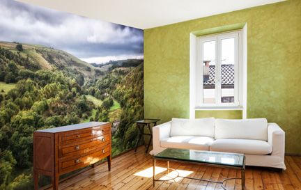 Coast Countryside UK Wallpaper Wall Mural