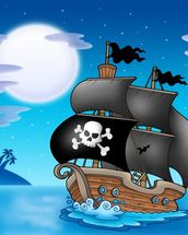 Pirates wall mural thumbnail