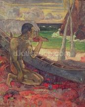 The Poor Fisherman, 1896 (oil on canvas) wall mural thumbnail