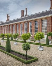 Hampton Court Orangery wallpaper mural thumbnail