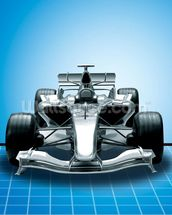 Racing Car wallpaper mural thumbnail