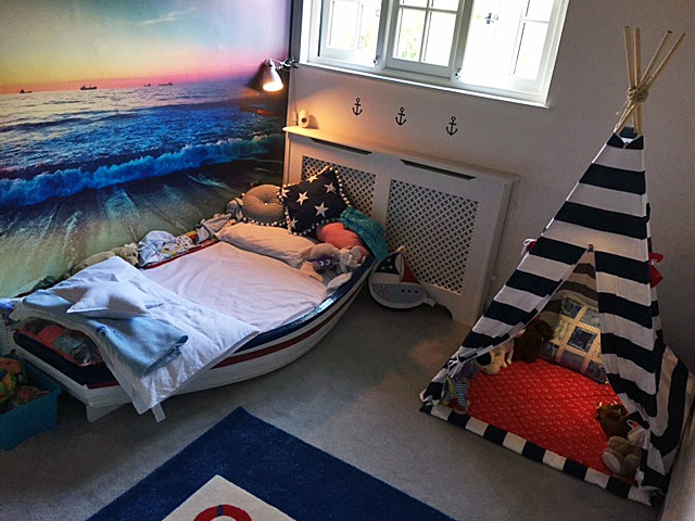 How This Customer Created A Bedroom For His Autistic Son