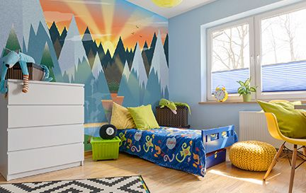 Twisted Pixels Illustration Wall Murals Wallpaper