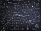 Black Chalkboard Wallpaper Mural Thumbnail