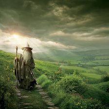 Gandalf in The Shire, The Hobbit wall mural