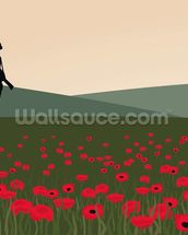 The Lone Soldier WW1 wallpaper mural thumbnail