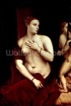 Venus in Front of the Mirror wall mural thumbnail