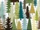 Woodland Trees wall mural thumbnail