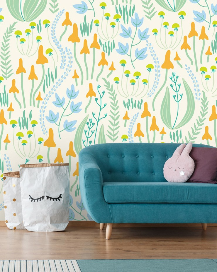 different-damask-wallpaper-in-childrens-room
