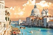 Venice Skies mural wallpaper thumbnail