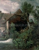 Watermill at Gillingham, Dorset wall mural thumbnail